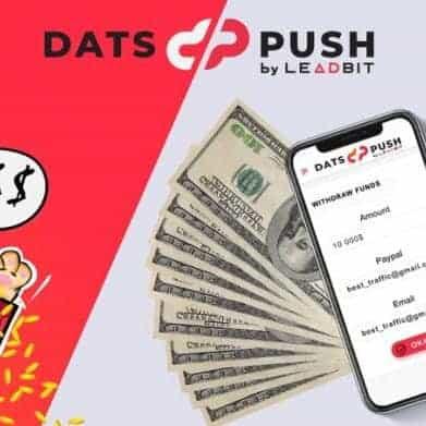 Kiếm tiền với quảng cáo đẩy DatsPush thật đơn giản