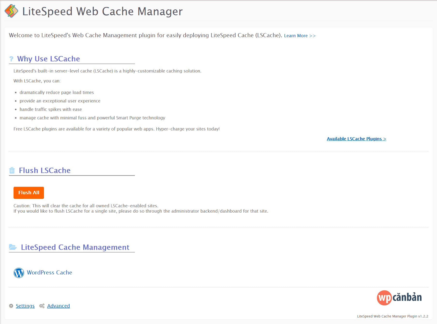 giao-dien-litespeed-web-cache-manager