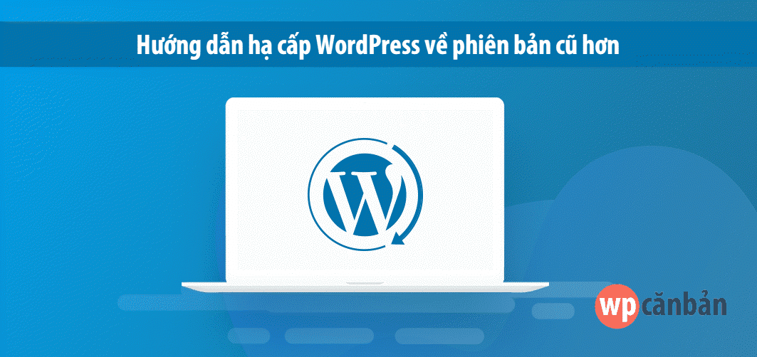 ha-cap-wordpress-ve-phien-ban-cu-mot-cach-don-gian