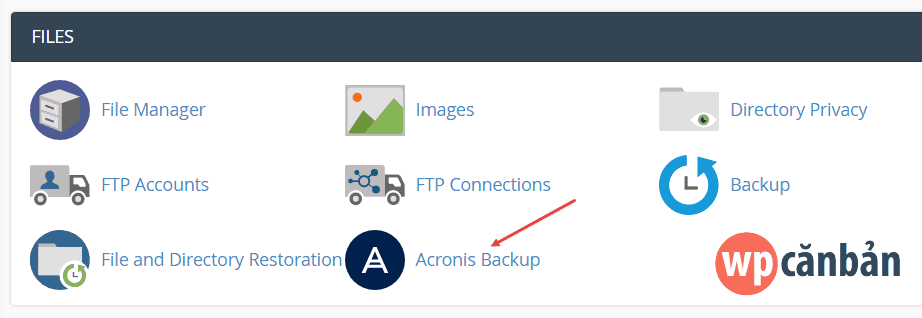 click-vao-muc-acronis-backup-trong-cpanel