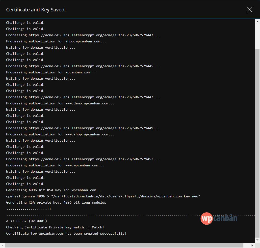 cai-dat-lets-encrypt-tren-directadmin-thanh-cong