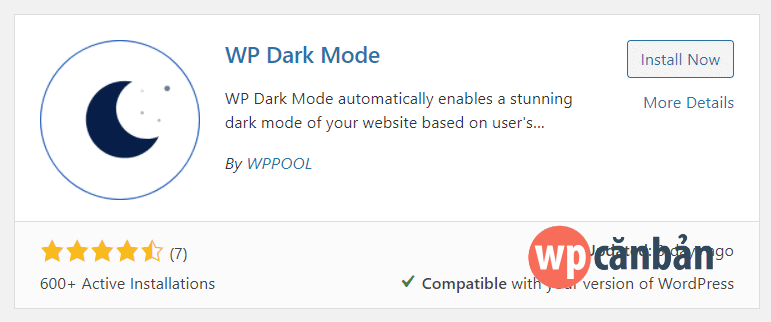 cai-dat-va-kich-hoat-plugin-wp-dark-mode