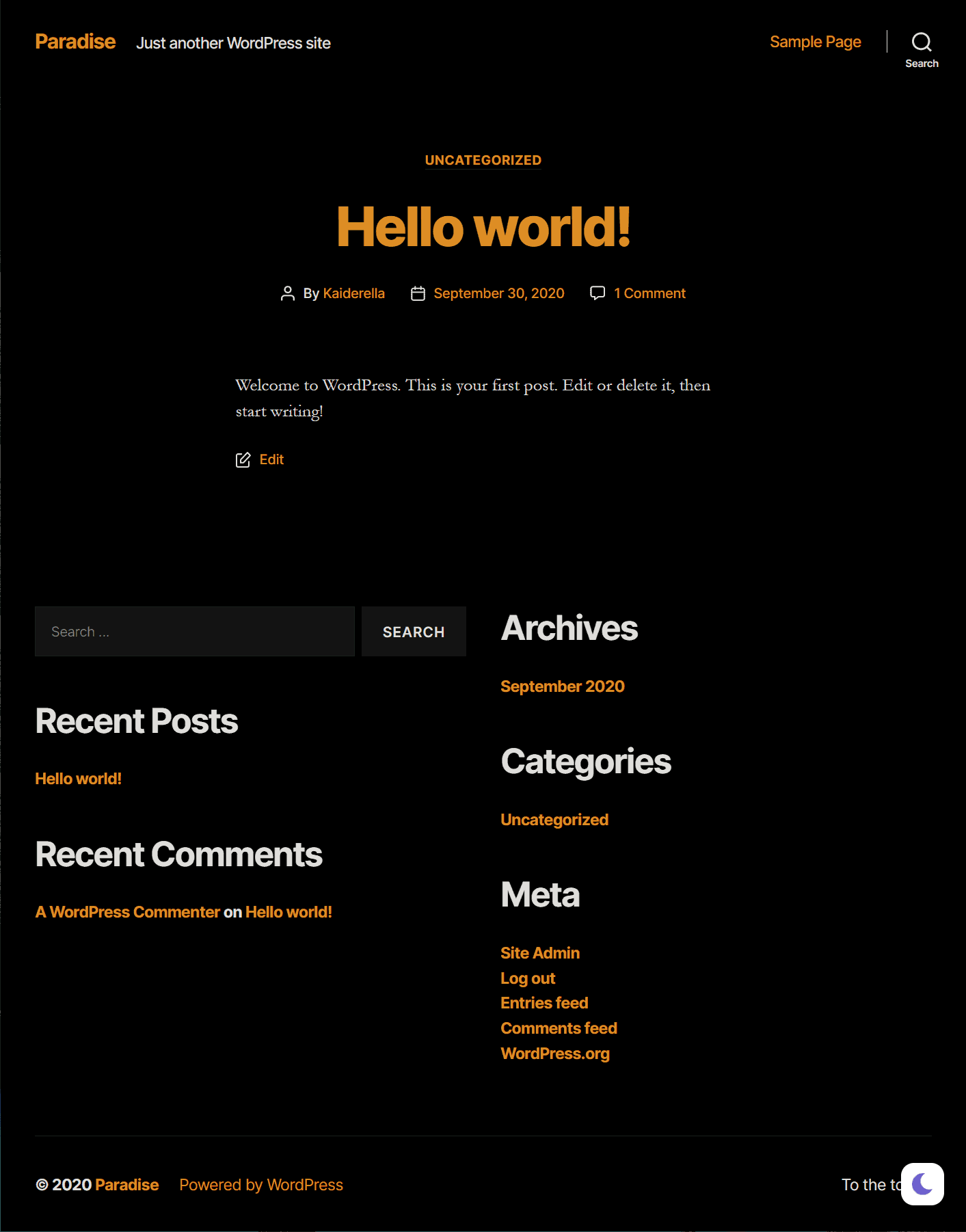 demo-wp-dark-mode