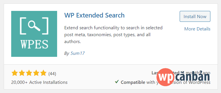 cai-dat-va-kich-hoat-plugin-wp-extended-search