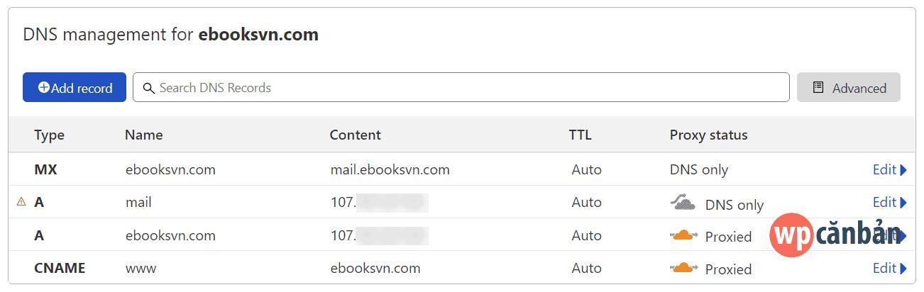 cloudflare-dns-management