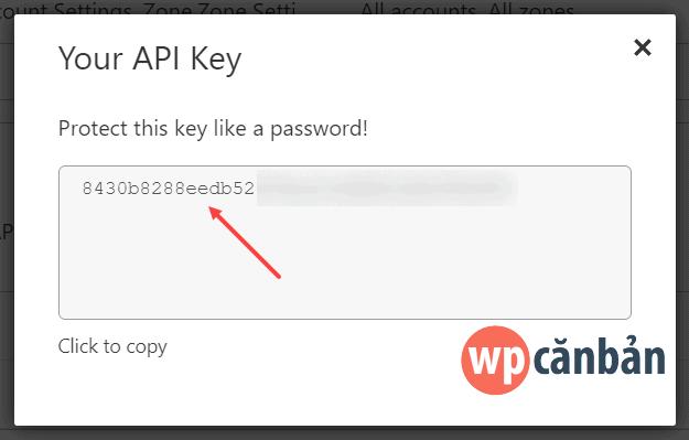 copy-cloudflare-api-key