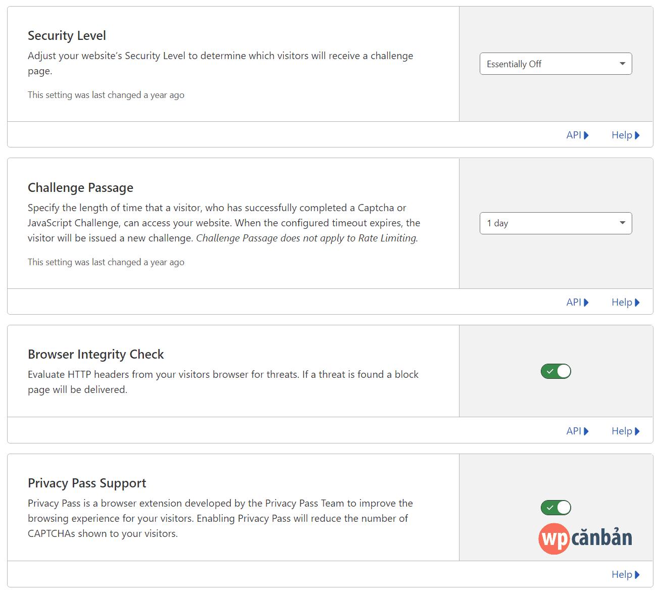 cloudflare-firewall-settings