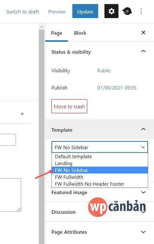 lua-chon-template-full-width-trong-block-editor